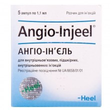 Buy Angio-inject ampoules 5 ampoules of 1.1 ml