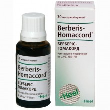 Buy Berberis-homacord Drops (Bottle) 30 ml