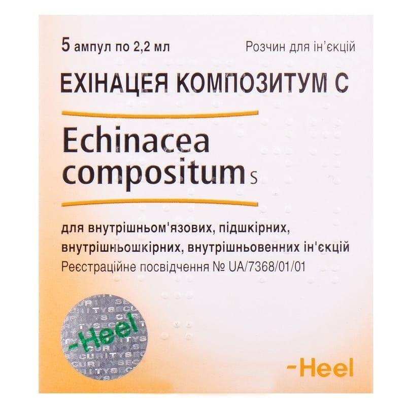 Buy Echinacea Compositum ampoules 5 ampoules of 2.2 ml