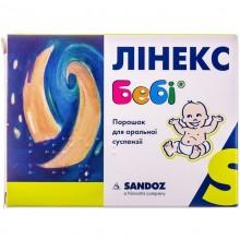 Buy Linex Baby Powder 1,000,000,000 CFU/sachet, 10 sachets of 1.5 g each