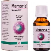 Buy Memoria Drops (Bottle) 20 ml