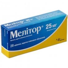 Buy Melitor Tablets 25 mg, 28 tablets