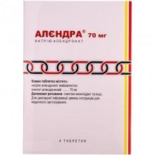 Buy Alendra Tablets 70 mg, 4 tablets