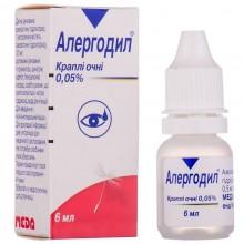 Buy Allergodil Drops (Bottle) 0.5 mg/ml, 6 ml