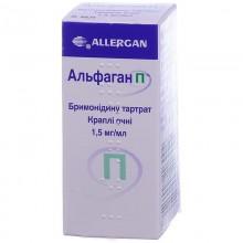 Buy Alfagan Drops (Bottle) 1.5 mg/ml, 5 ml