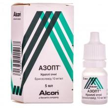 Buy Azopt Drops (Bottle) 10 mg/ml, 5 ml