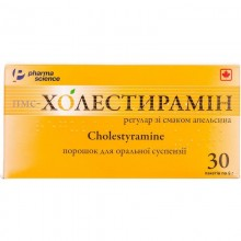 Buy PMS-cholestyramine Powder 4 g/9 g 9 g, 30 sachets of 9 g each