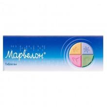 Buy Marvelon Tablets 0.15 mg + 0.03 mg, 63 tablets