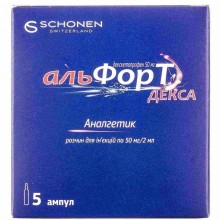 Buy Alfort ampoules 25 mg/ml, 5 ampoules of 2 ml