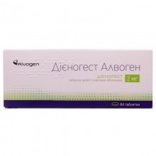 Buy Dienogest Tablets 2 mg, 6 blisters for 14 pcs.