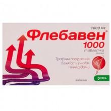 Buy Flebaven Tablets 1000 mg, 3 blisters of 10 pcs.