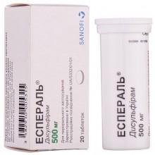 Buy Esperal Tablets 500 mg, 20 tablets