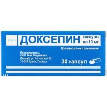 Buy Doxepin Capsules 10 mg, 30 capsules