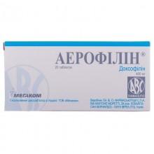 Buy Aerofillin Tablets 400 mg, 20 tablets