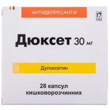 Buy Duxet Capsules 30 mg, 28 capsules