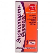 Buy Enoxaparin Bottle 10000 AXa IU/ml, 3 ml