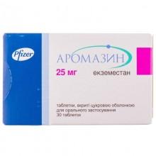 Buy Aromasin Tablets 25 mg, 30 tablets