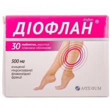 Buy Dioflan Tablets 500 mg, 30 tablets