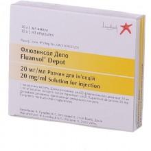 Buy Fluanxol ampoules 20 mcg/ml, 10 ampoules of 1 ml