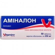 Buy Aminalon Tablets 250 mg, 50 tablets