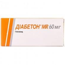 Buy Diabeton Tablets 60 mg, 30 tablets