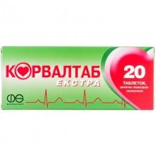 Buy Corvaltab Tablets 20 tablets