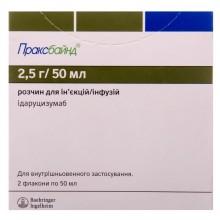 Buy Praxbind Bottle 50 mg/ml, 2 pcs (thermolabile)