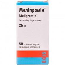 Buy Melipramine Tablets 25 mg, 50 tablets