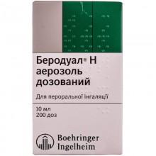 Buy Berodual Aerosol 10 ml, 10 ml, 200 doses
