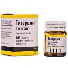 Buy Tizercin Tablets 25 mg, 50 tablets