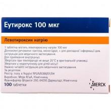 Buy Euthyrox Tablets 0.1 mg, 100 tablets