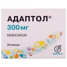 Buy Adaptol Capsules 300 mg, 20 capsules