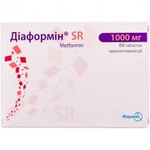 Buy Diaformin Tablets 1000 mg, 60 tablets