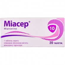 Buy Miaser Tablets 10 mg, 20 tablets