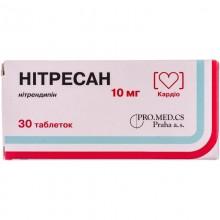 Buy Nitresan Tablets 10 mg, 30 tablets