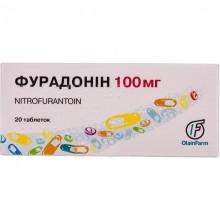 Buy Furadonin Tablets 100 mg, 20 tablets