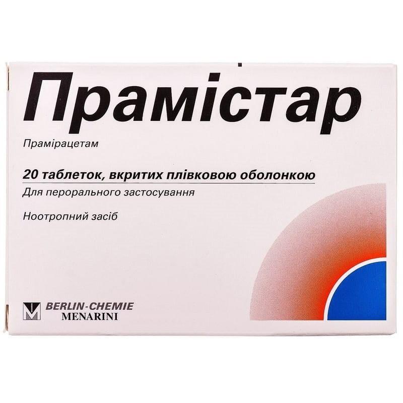 Buy Pramistar Tablets 600 mg, 20 tablets