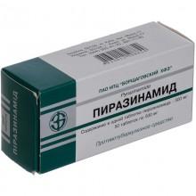 Buy Pyrazinamide Tablets 500 mg, 50 tablets
