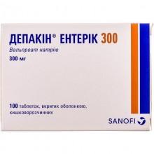 Buy Depakine Tablets 300 mg, 100 tablets