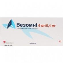 Buy Vesomni Tablets 6 mg + 0.4 mg, 30 tablets