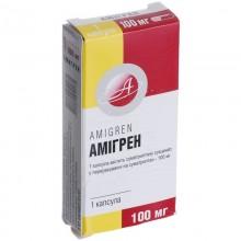 Buy Amigren Capsules 100 mg, 1 capsule