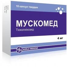 Buy Muscomed Capsules 4 mg, 20 capsules
