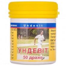 Buy Undevit Tablets 50 tablets