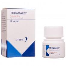 Buy Topamax Capsules 25 mg, 28 capsules