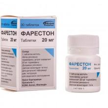 Buy Fareston Tablets 20 mg, 30 tablets